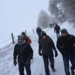 Dämmerschoppen Ende Dezember mit Winterwanderung nach Rötenbach